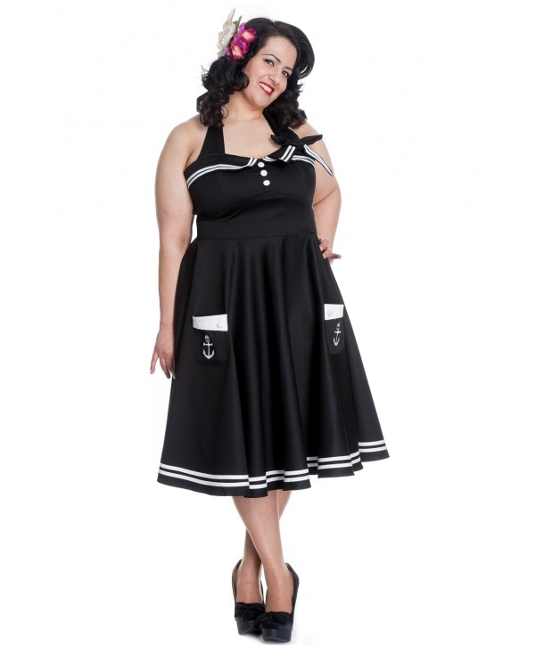 Robe grande taille Hell Bunny Motley 50s