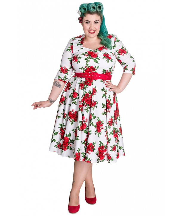Robe Grande Taille Eternity 50s Hell Bunny