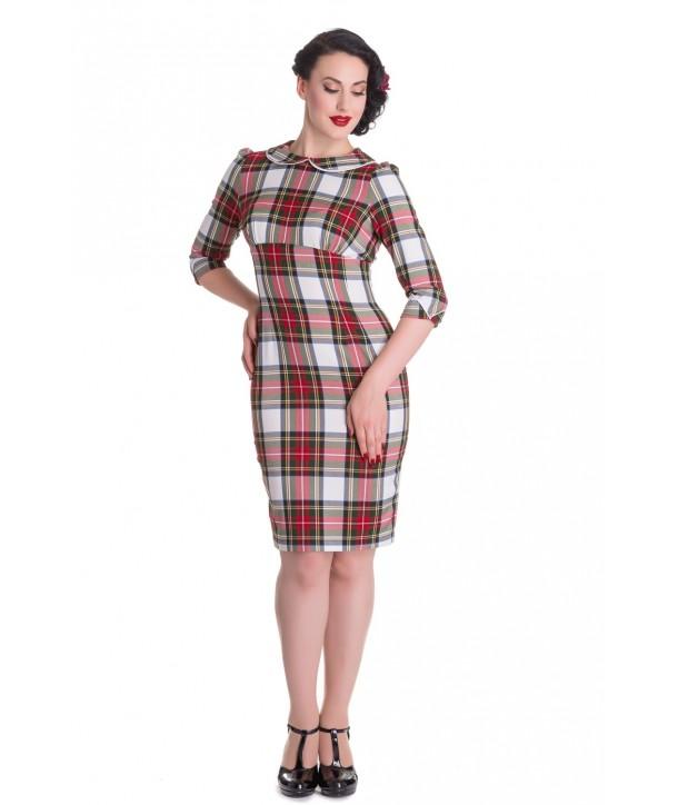 Robe DORALEE PENCIL DRESS Stewart / Tartan
