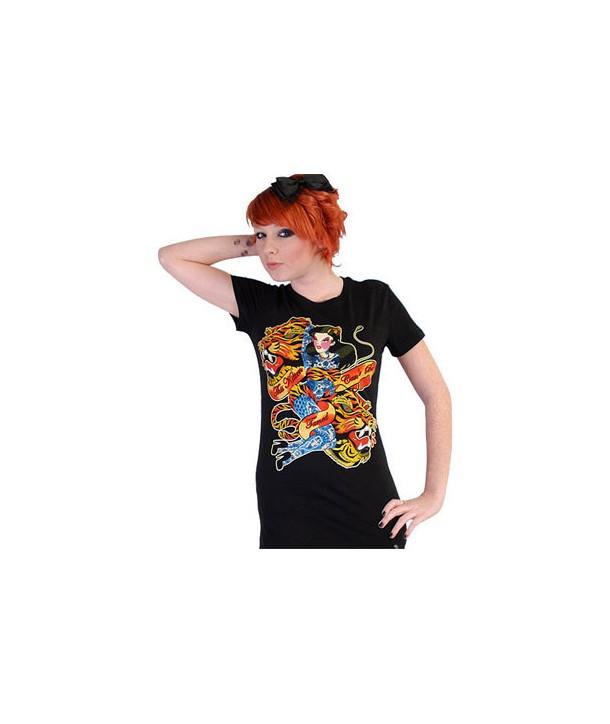 Tee Shirt Darkside Femme Kitten