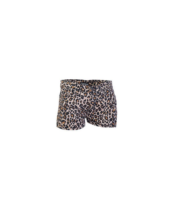 Short Darkside Clothing Natural Leopard