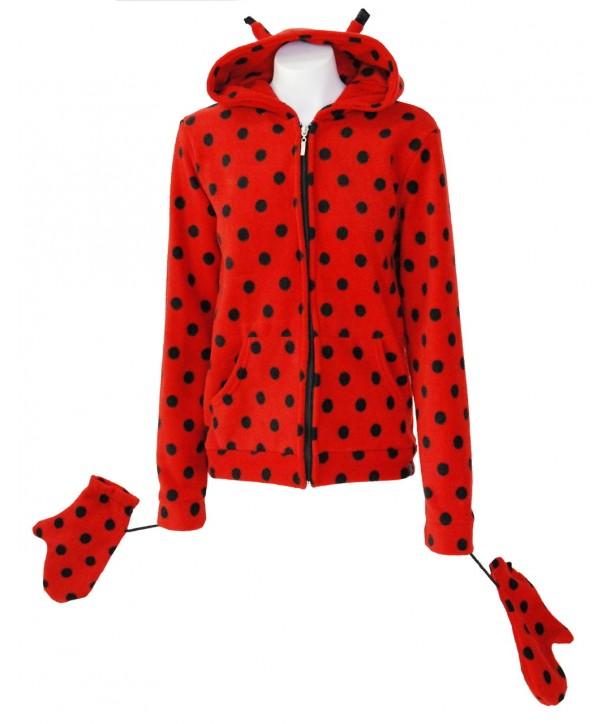 Sweat Shirt Veste Darkside Clothing Fur Ladybird