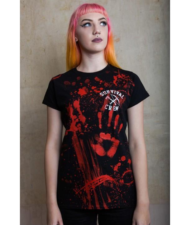 Tee Shirt Darkside Femme Zombie Killer
