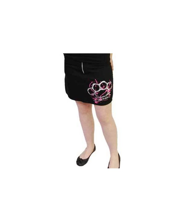 Jupe Darkside Pink Duster Pocket Skirt