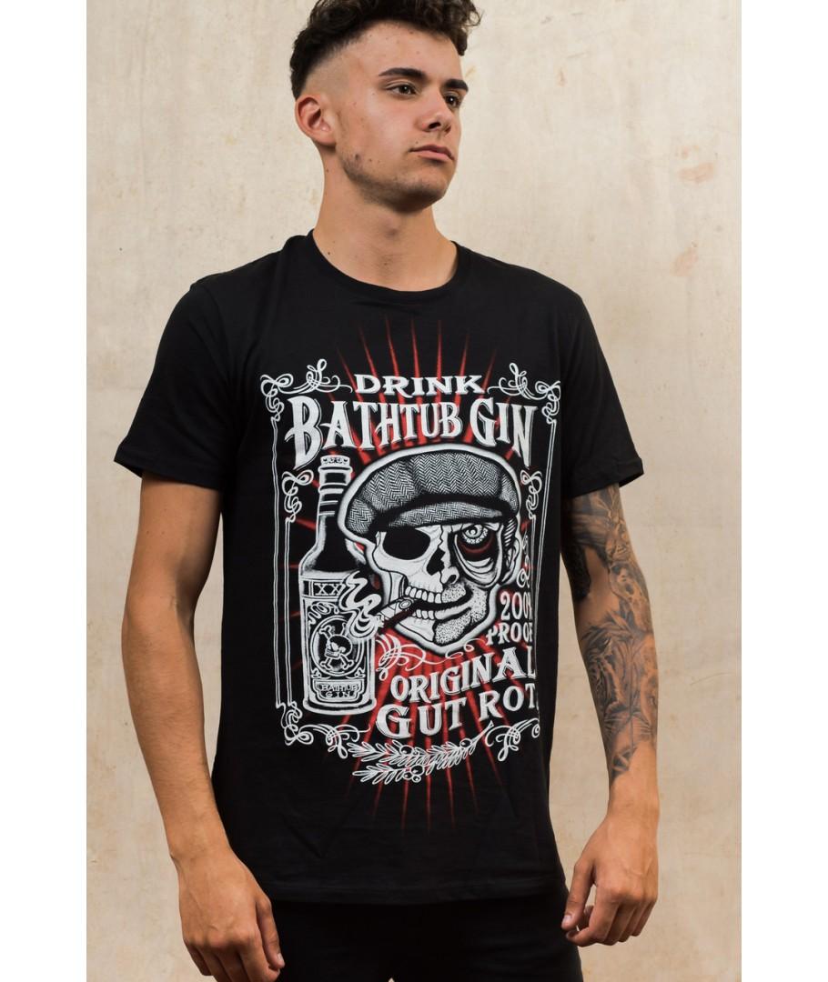 Tee shirt rock métal Darkside Bathtub Gin