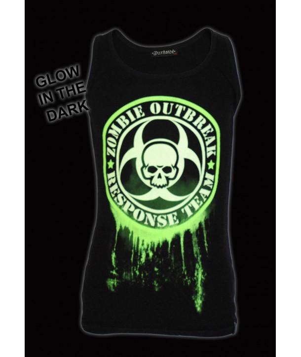 Debardeur Darkside Clothing Glow In The Dark Zombie
