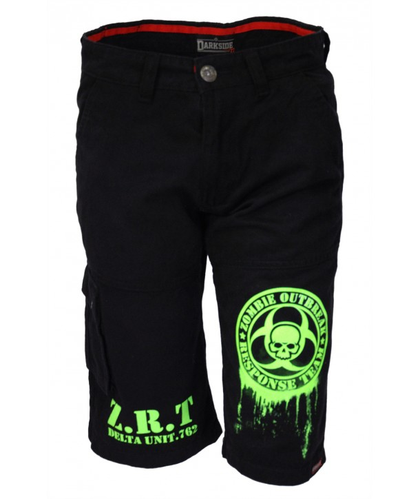 Short Darkside Homme Fluo Green Zombie Response