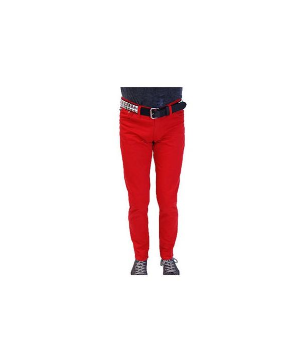Jeans Slim Darkside Homme Red