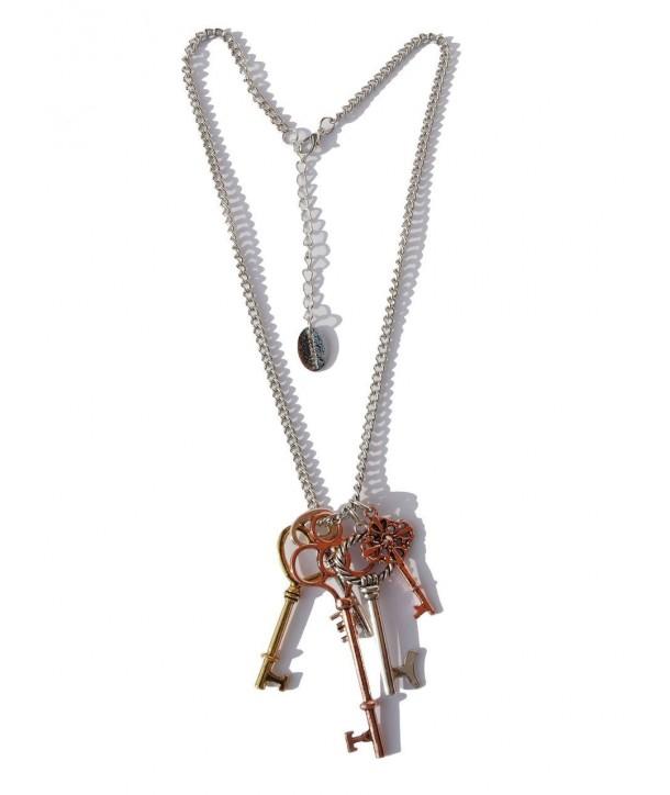 Collier en argent Darkside Keys