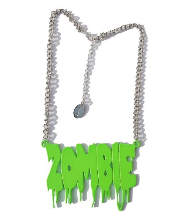 Collier Rock Darkside Green Zombie Melt