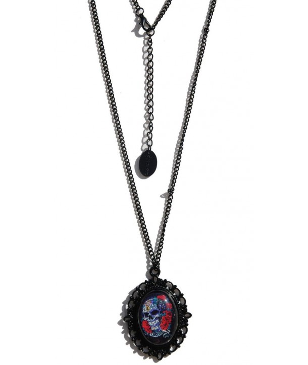Collier Darkside Mexican Sugar Skull