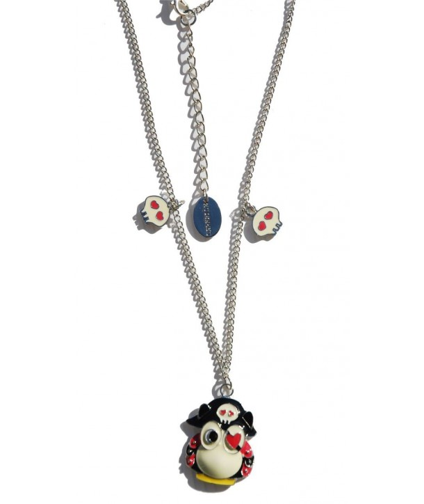 Collier Darkside Pirate Owl