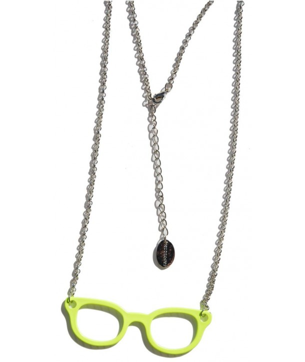Collier Darkside Yellow Glasses