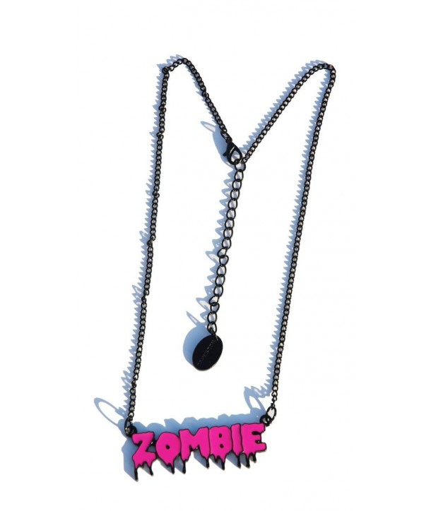 Collier Darkside Pink Zombie