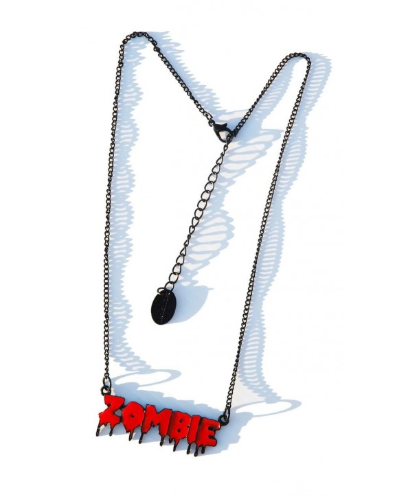 Collier Darkside Red Zombie