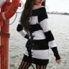 Top Vixxsin Anchor Noir/Blanc