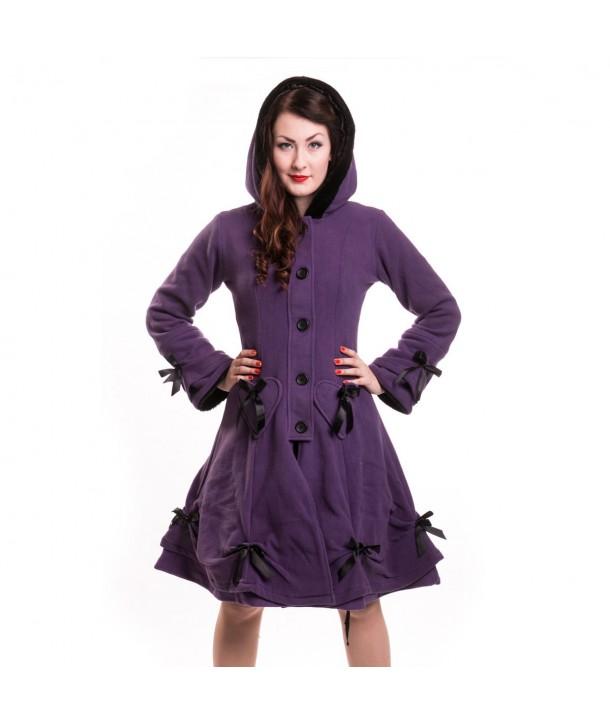 Manteau Poizen Industrie Alice Coat Purple