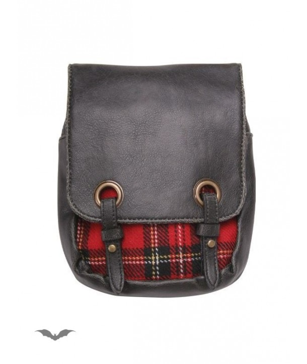 Sac Queen Of Darkness Gothique Kilt Bag Red