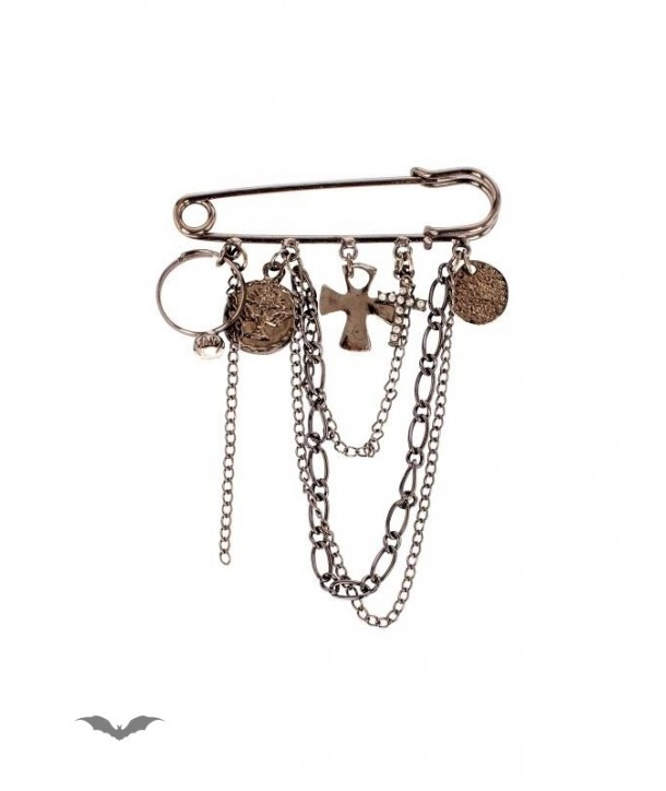 Patche Queen Of Darkness Gothique Pendant With Crosses And Chains