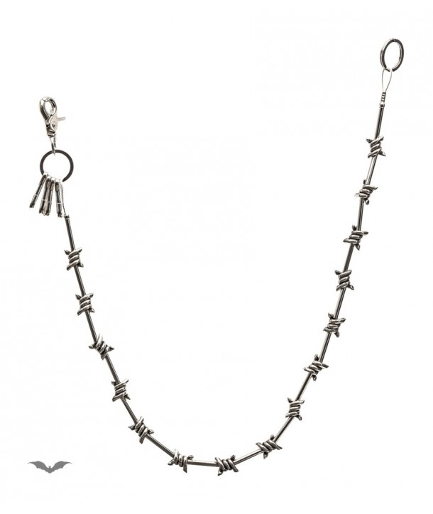 Chaine Queen Of Darkness Gothique Pocket Chain Barbed Wire