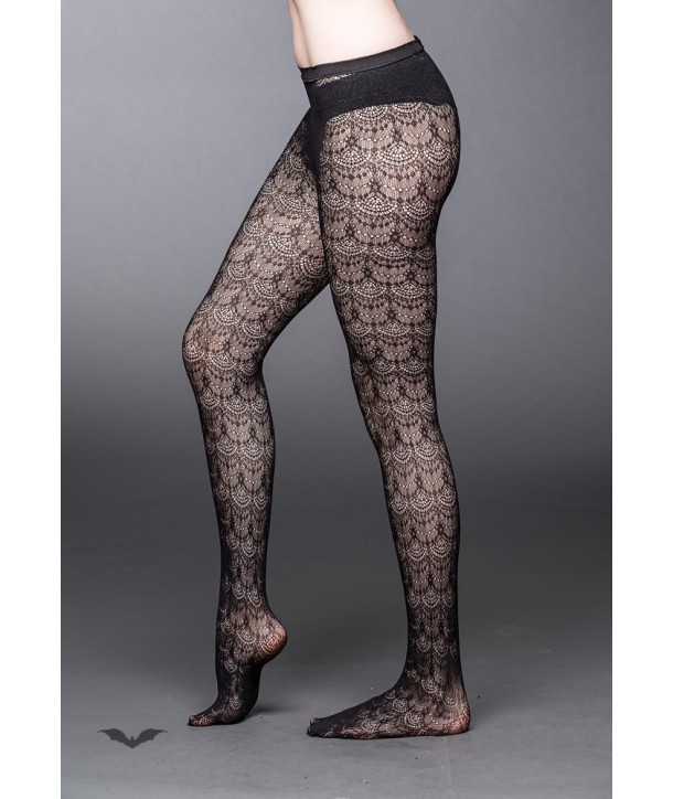 Legging Queen Of Darkness Gothique Lace Stockings