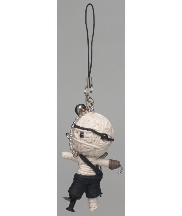 Porte Clés Queen Of Darkness Gothique Voodoo Doll - Hook