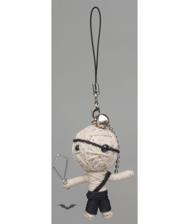 Porte Clés Queen Of Darkness Gothique Voodoo Doll - Little Pirate