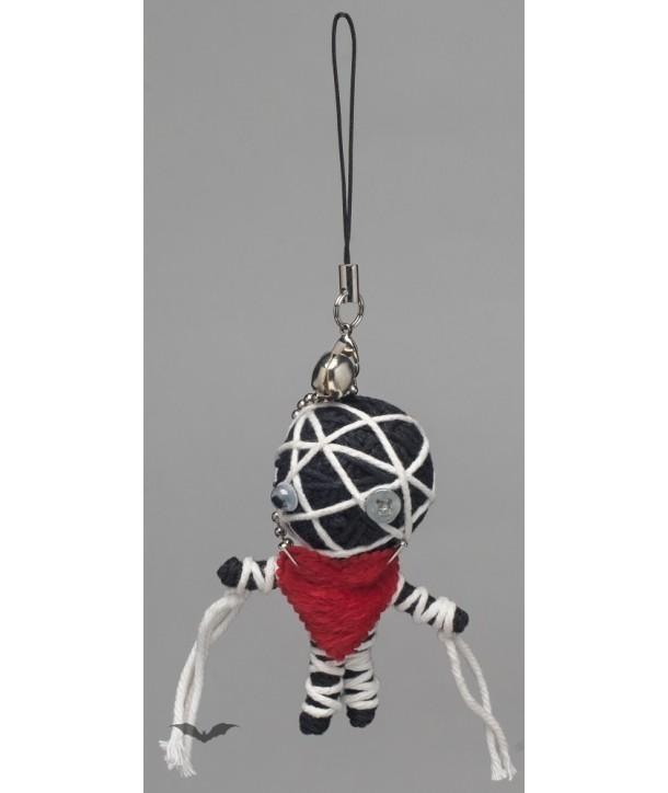 Porte Clés Queen Of Darkness Gothique Voodoo Doll - Little Mummy