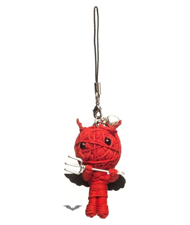 Porte Clés Queen Of Darkness Gothique Voodoo Doll - The Devil Red