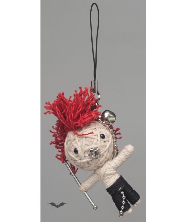 Porte Clés Queen Of Darkness Gothique Voodoo Doll - Sab Boy