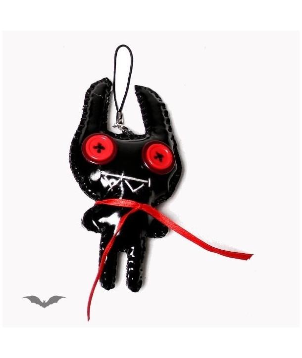 Porte Clés Queen Of Darkness Gothique Voodoo Doll - Crazy Alien With Big Eyes