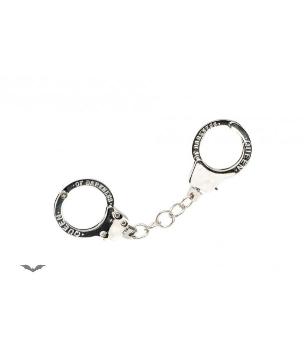 Bracelet Queen Of Darkness Gothique Handcuffs Pendant