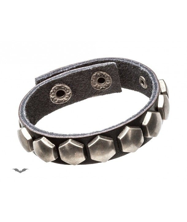 Bracelet Queen Of Darkness Gothique Bracelet With Studs In The Shape Of Comb