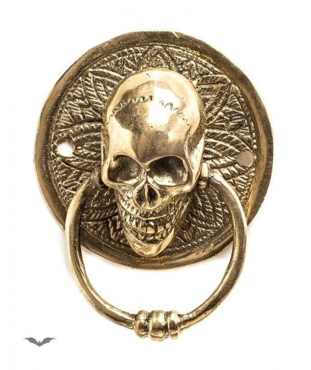Home Déco Queen Of Darkness Gothique Small Round Door Handle Golden Color