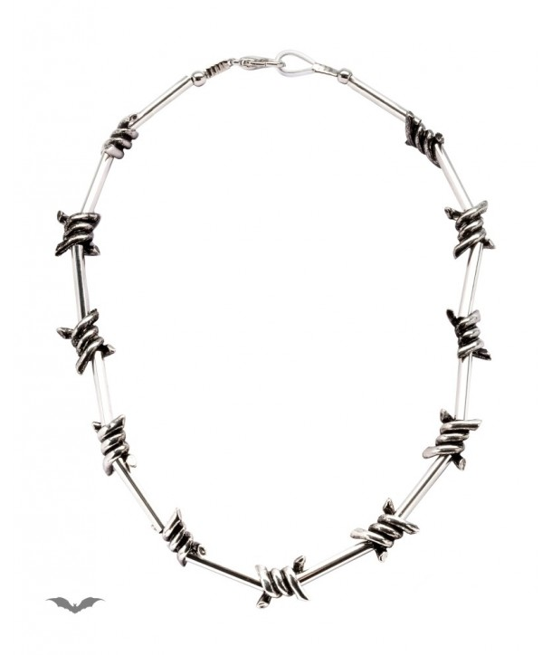 Collier Queen Of Darkness Gothique Barbed Wire Necklace