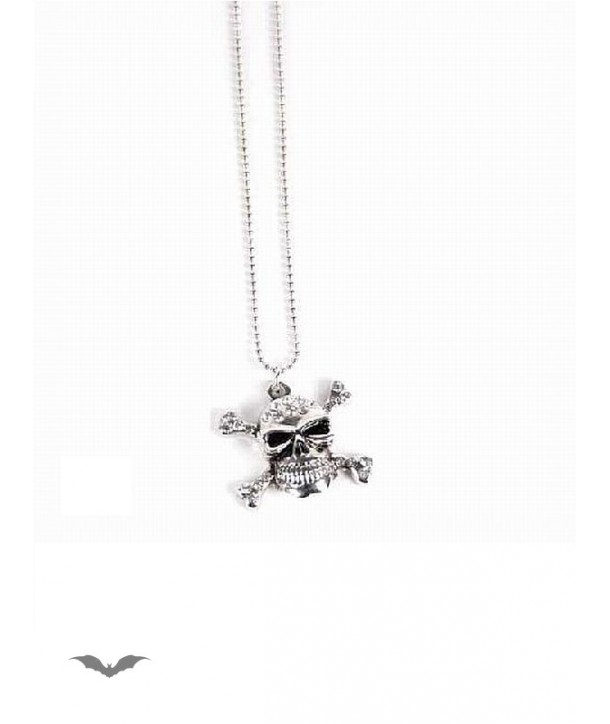 Collier Queen Of Darkness Gothique Necklace With Skull