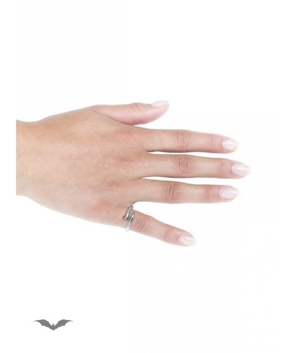 Bague Queen Of Darkness Gothique Needle Look Ring