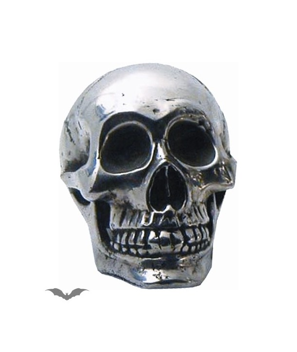 Deco Queen Of Darkness Gothique Small Skull For Decoration In Silver Col