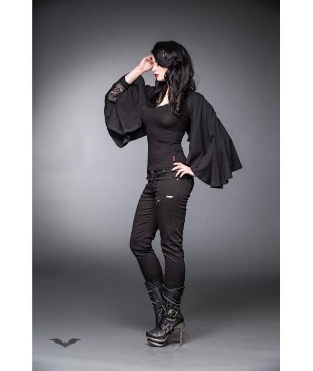 Bolero Queen Of Darkness Gothique Batwing
