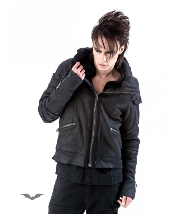 Veste Queen Of Darkness Gothique Biker