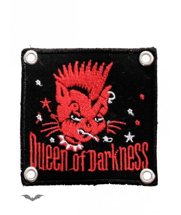 Patches Queen Of Darkness Gothique Patch: Smoking Red Cat