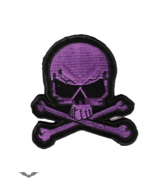 Patches Queen Of Darkness Gothique Purple And Black Skull Patch