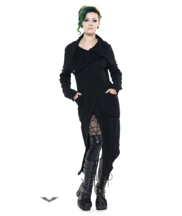 Manteau Queen Of Darkness Gothique Delora