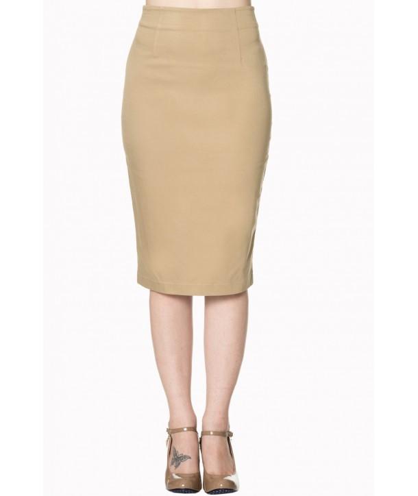 Jupe Banned Clothing Dawn Breaks Skirt Noir