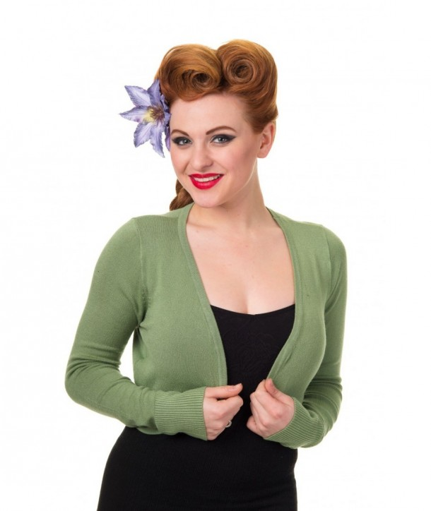 Boleros Banned Clothing Flickers Bolero Vintage Vert