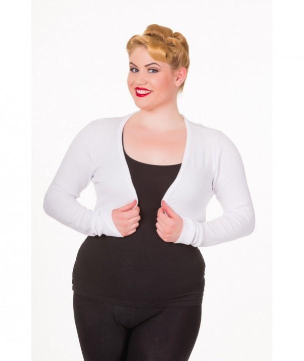 Boleros Banned Clothing Flickers Bolero Blanc