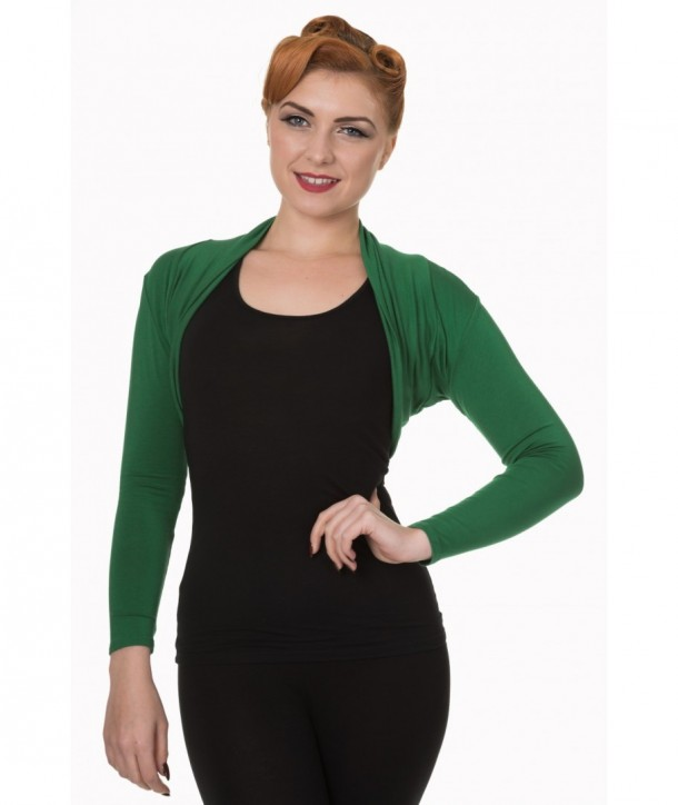 Boleros Banned Clothing Folded Bolero Forrest Vert