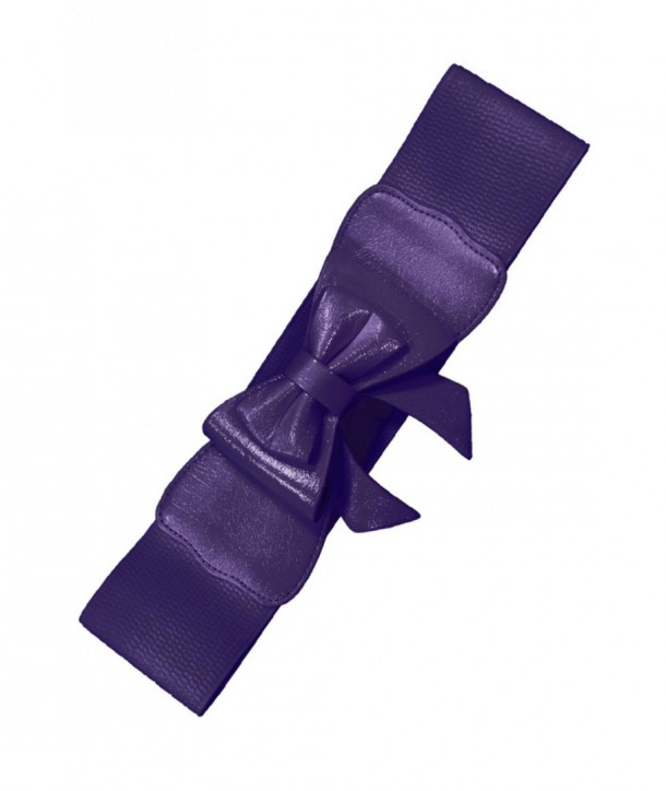 Ceinture Banned Clothing Play It Right Belt Aubergine