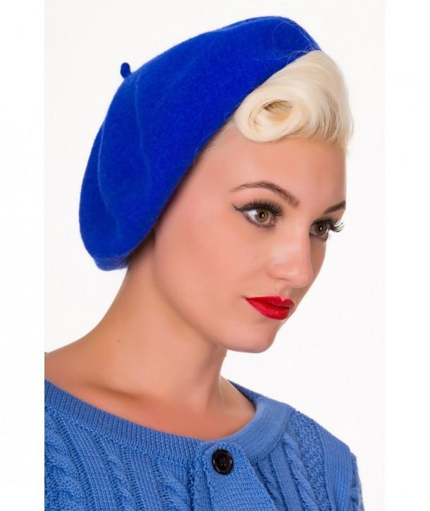 Chapeau Banned Clothing Vintage Claire Hat Petrol Bleu
