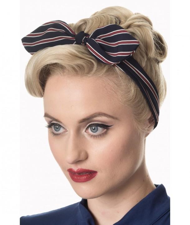 Foulard Banned Clothing Brandy Headscarf Navy